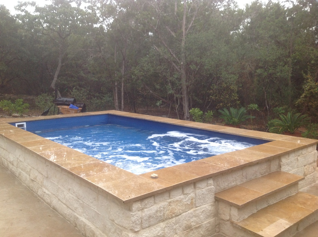 Diy pool shell packages ace fiberglass pools for Diy small pool